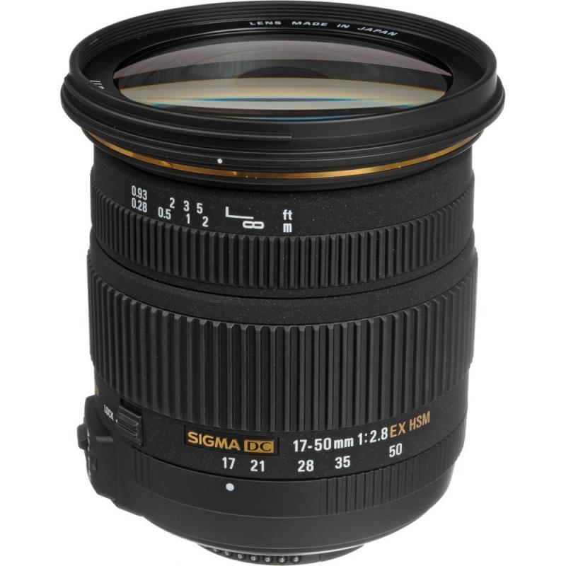 لنز سیگما Sigma 17-50mm F2.8 EX DC OS HSM for Canon