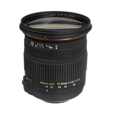 لنز سیگما مدل Sigma 17-55mm f/2.8 EX DC OS HSM
