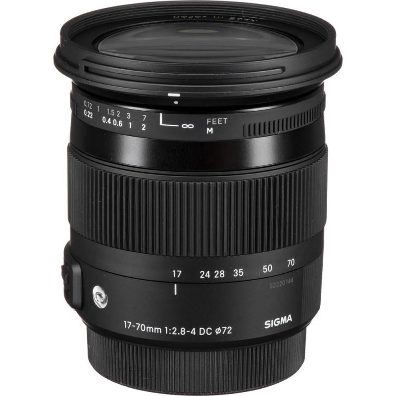 لنز سیگما Sigma 17-70mm F2.8-4 DC Macro OS HSM | C for Canon