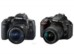 مقایسه دوربین کنون ۷۵۰D با دوربین نیکون D5600