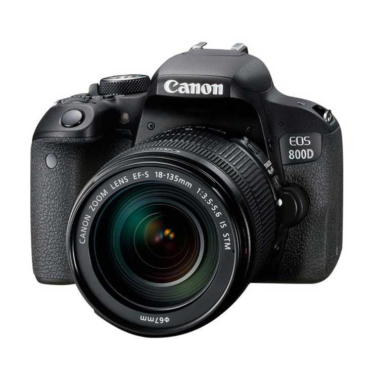 دوربین عکاسی کانن Canon 800D با لنز 135-18 IS STM