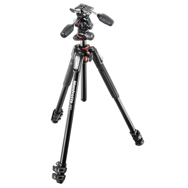 سه پایه دوربین حرفه ای مانفروتو Manfrotto MK190XPRO3-3W