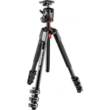 دیدنگار سه پایهسه پایه دوربین حرفه ای مانفروتو Manfrotto MK190XPRO4-BHQ2