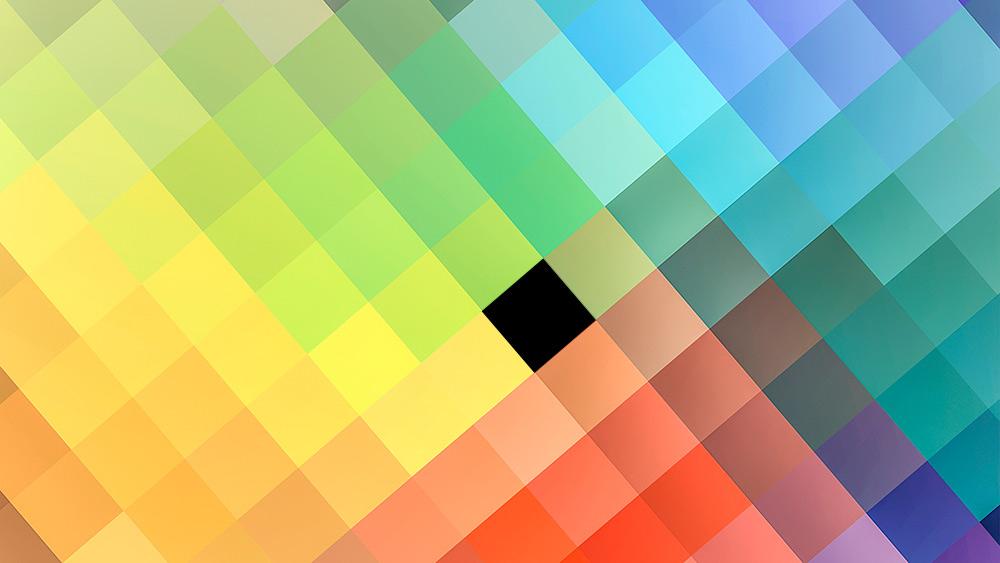 What is burnt pixel