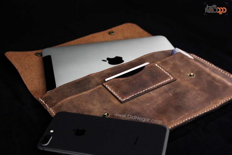 کیف تبلت چرم ، 100 درصد طبیعی – متناسب با مدل تبلت شما
