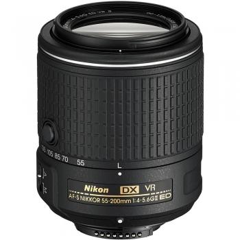 دیدنگار لنز نیکون nikon لنز نیکون Nikon AF-S DX Nikkor 55-200mm f/4-5.6G VR II