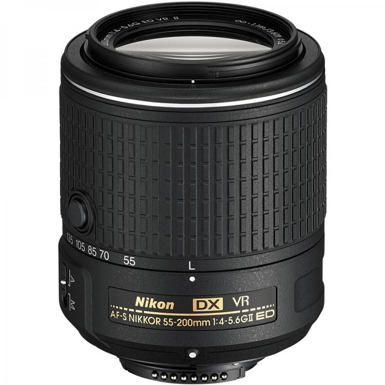 دیدنگار|لنز نیکون nikon|لنز نیکون Nikon AF-S DX Nikkor 55-200mm f/4-5.6G VR II