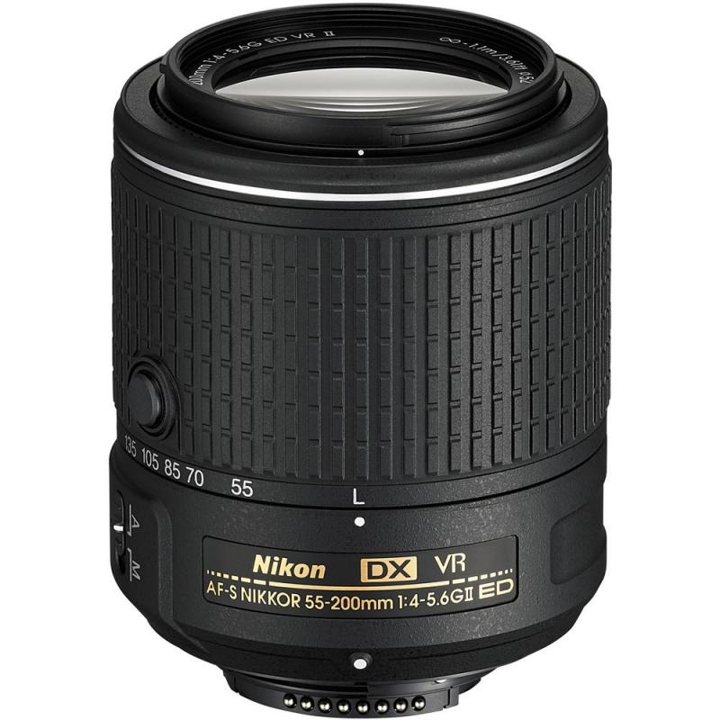 لنز نیکون Nikon AF-S DX Nikkor 55-200mm f/4-5.6G VR II
