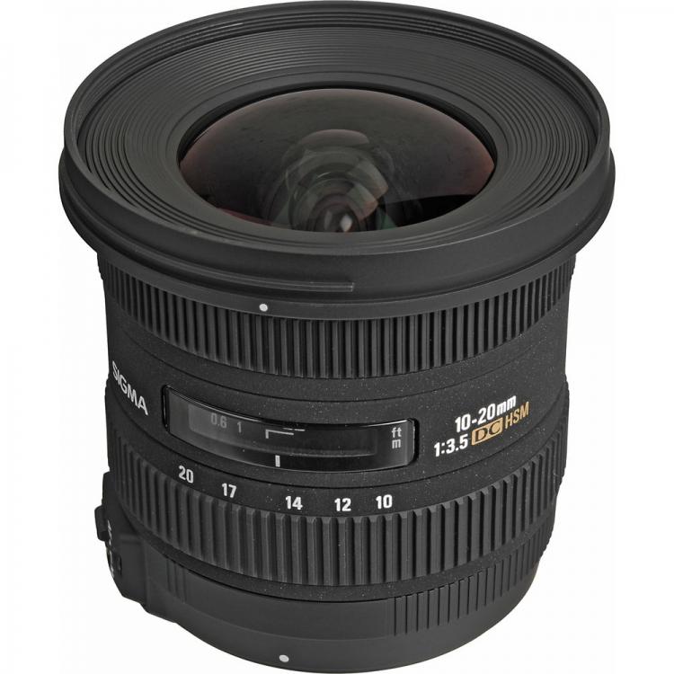 دیدنگار لنز سیگما sigma لنز سیگما Sigma 10-20mm F3.5 EX DC HSM for Nikon