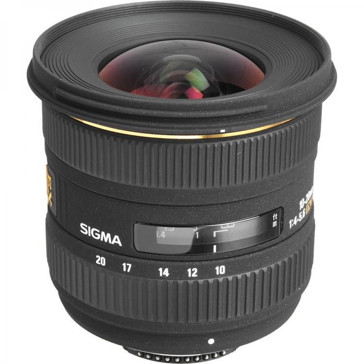 دیدنگار لنز سیگما sigma لنز سیگما Sigma 10-20mm F4-5.6 EX DC HSM for Canon