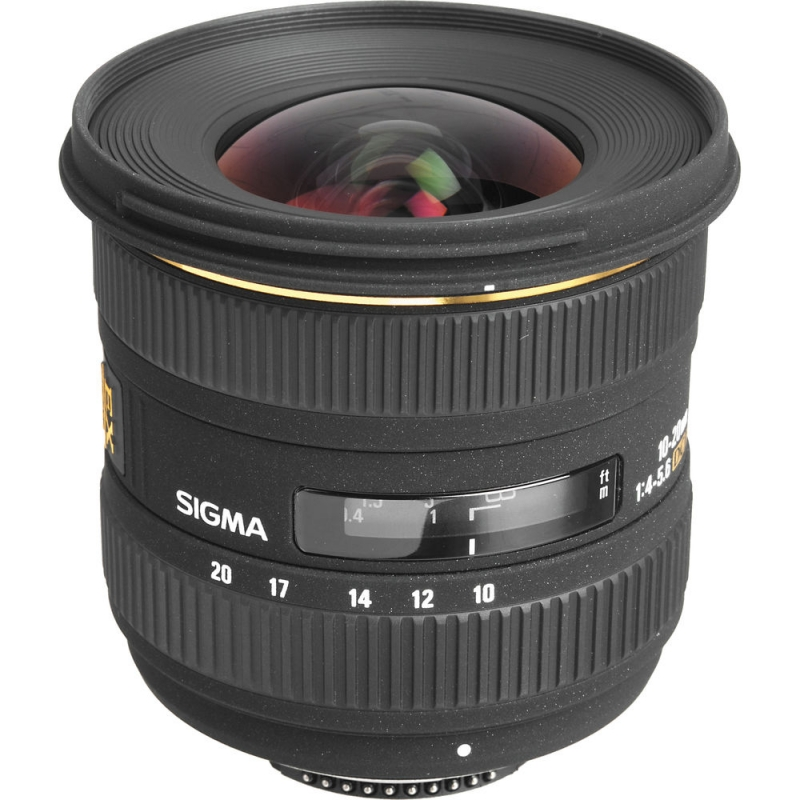 لنز سیگما Sigma 10-20mm F4-5.6 EX DC HSM for Canon