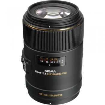 لنز سیگما Sigma 105mm F2.8 EX DG OS HSM Macro for Nikon