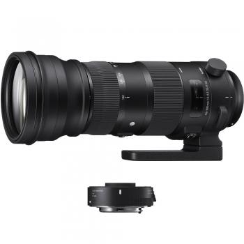 دیدنگار لنز سیگما sigma لنز سیگما Sigma 150-600mm F5-6.3 DG OS HSM   C for Nikon + TC 1401