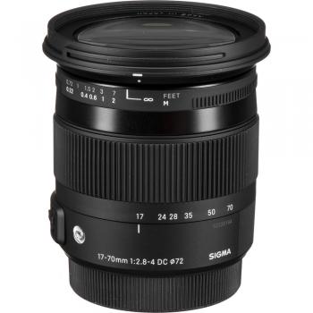 دیدنگار|لنز سیگما sigma|لنز سیگما Sigma 17-70mm F2.8-4 DC Macro OS HSM | C for Nikon