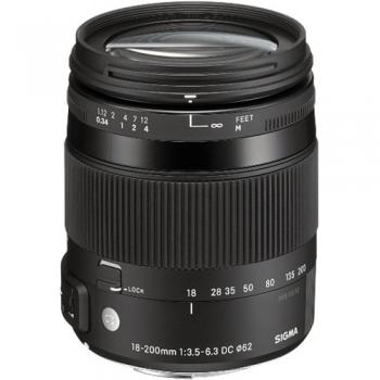 دیدنگار|لنز سیگما sigma|لنز سیگما Sigma 18-200mm F3.5-6.3 DC Macro OS HSM | C for Nikon