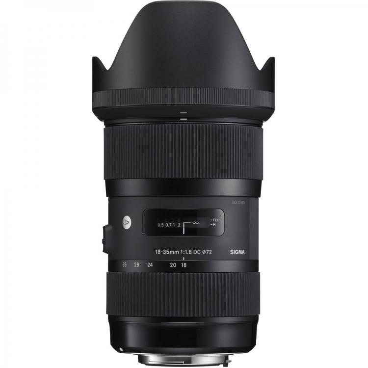 دیدنگار|لنز سیگما sigma|لنز سیگما Sigma 18-35mm F1.8 DC HSM Art for Nikon