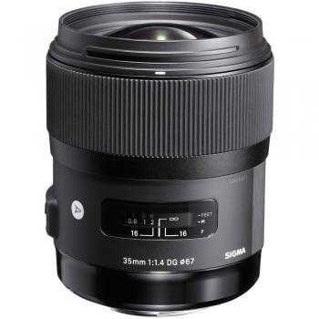 دیدنگار لنز سیگما sigma لنز سیگما Sigma 35mm F1.4 DG HSM Art for Nikon