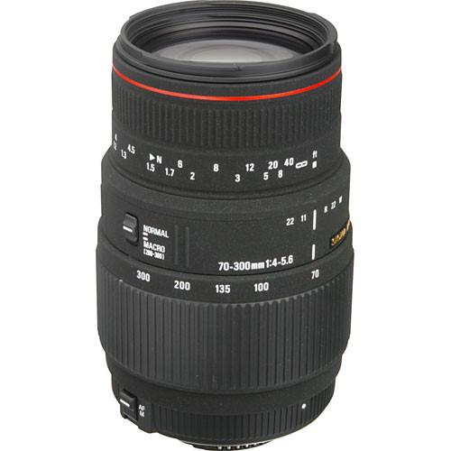 لنز سیگما Sigma 70-300mm F4-5.6 APO DG Macro for Nikon