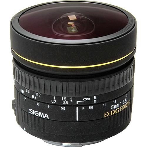 دیدنگار|لنز سیگما sigma|لنز سیگما Sigma 8mm F3.5 EX DG Circular Fisheye for Nikon