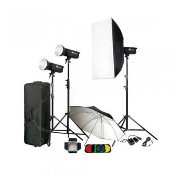 کیت فلاش چتری 300ژول استودیویی برند S&S مدل TC-300