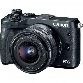 دیدنگار دوربین کانن دوربین بدون آینه کانن Canon EOS M6 Mirrorless Body