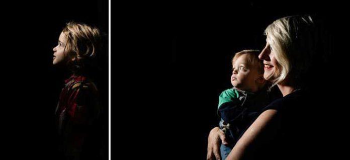 عکاسی پرتره دراماتیک تنها با یک فلاش