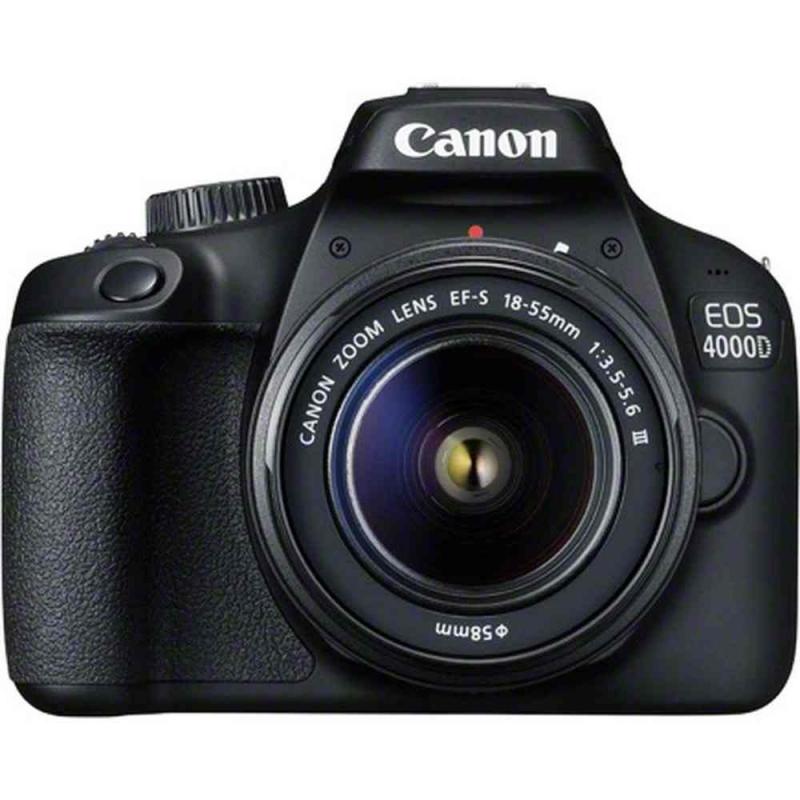 دوربین عکاسی کانن Canon 4000D با لنز ۵۵-۱۸ DC III