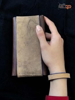 دیدنگار|کیف موبایل چرم|کیف موبایل چرم طبیعی + دستبند چرم (هدیه) – سفارش بر اساس مدل گوشی شما