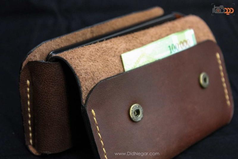 کیف موبایل چرمی دستدوز – سفارش بر اساس مدل گوشی شما