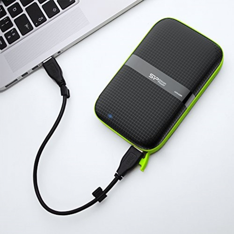 Silicon Power A60 1TB Shockproof/Waterproof Portable Hard drive
