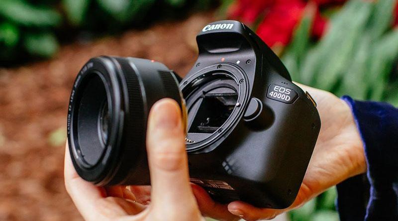 نقد و بررسی دوربین کانن 4000D