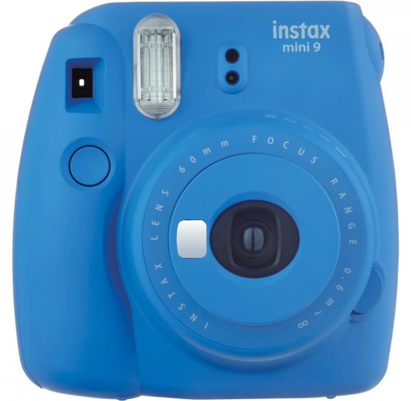 دوربین چاپ سریع فوجی فیلم آبی رنگ Instax Mini 9 Blue