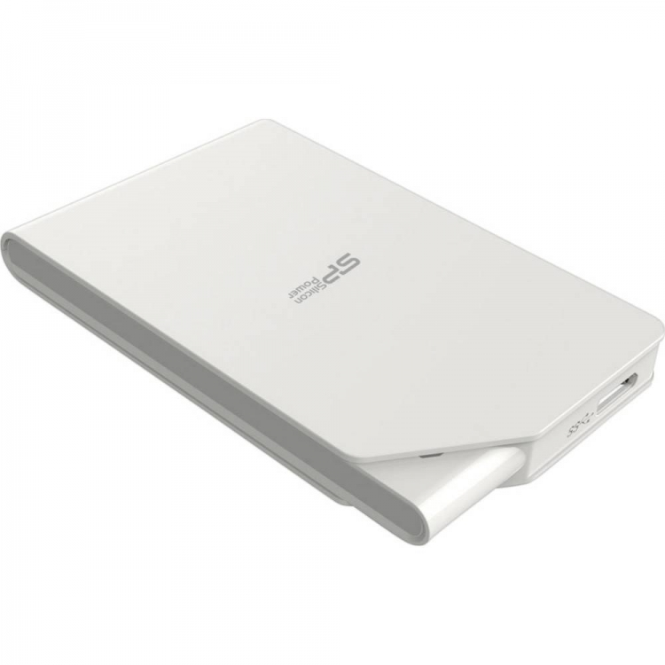 external hard drive 2 TB Silicon Power SO3 white USB 3.0
