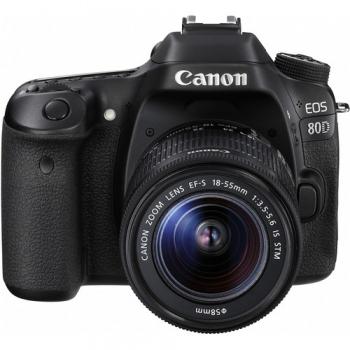 دیدنگار|دوربین کانن|دوربین عکاسی کانن Canon 80D با لنز 55-18 IS STM