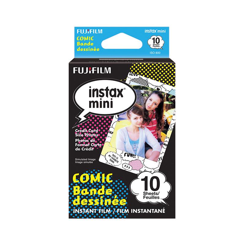 کاغذ 10 عددی / فیلم دوربین چاپ سریع فوجی فیلم Instax mini طرح Comic