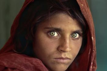 پرتره دختر افغان