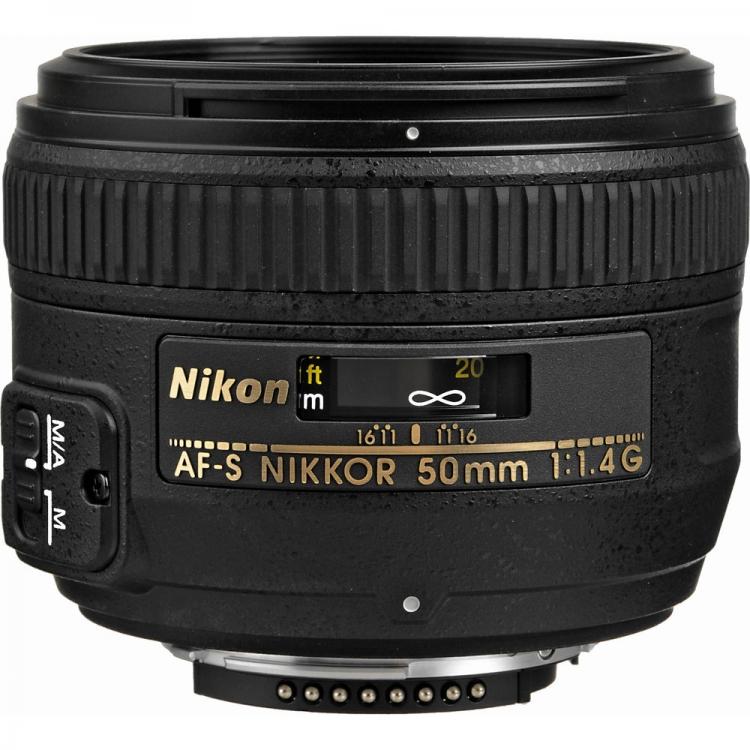دیدنگار لنز نیکون nikon لنز نیکون Nikon AF-S Nikkor 50mm f/1.4G