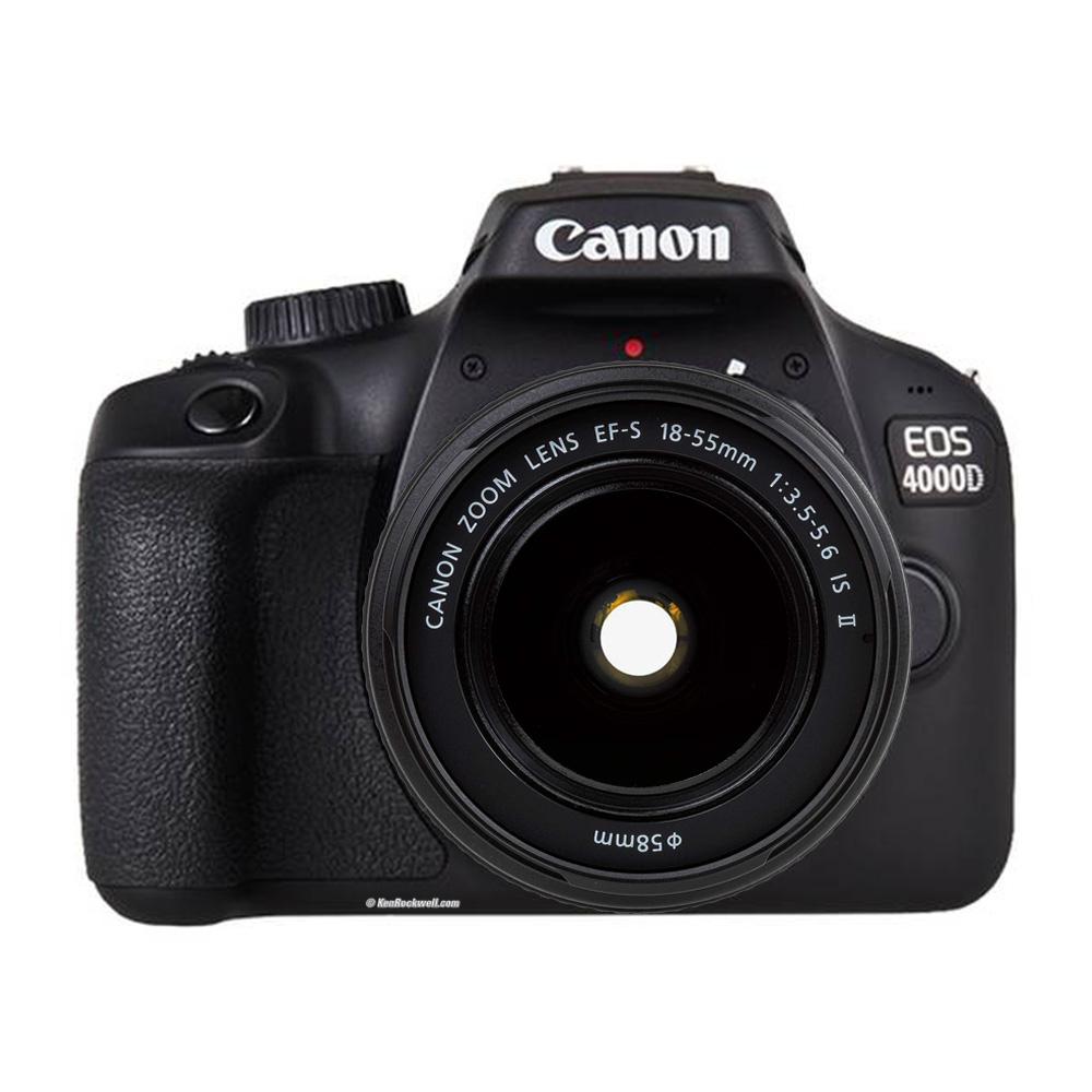 دوربین عکاسی کانن Canon 4000D با لنز 55-18 IS II |