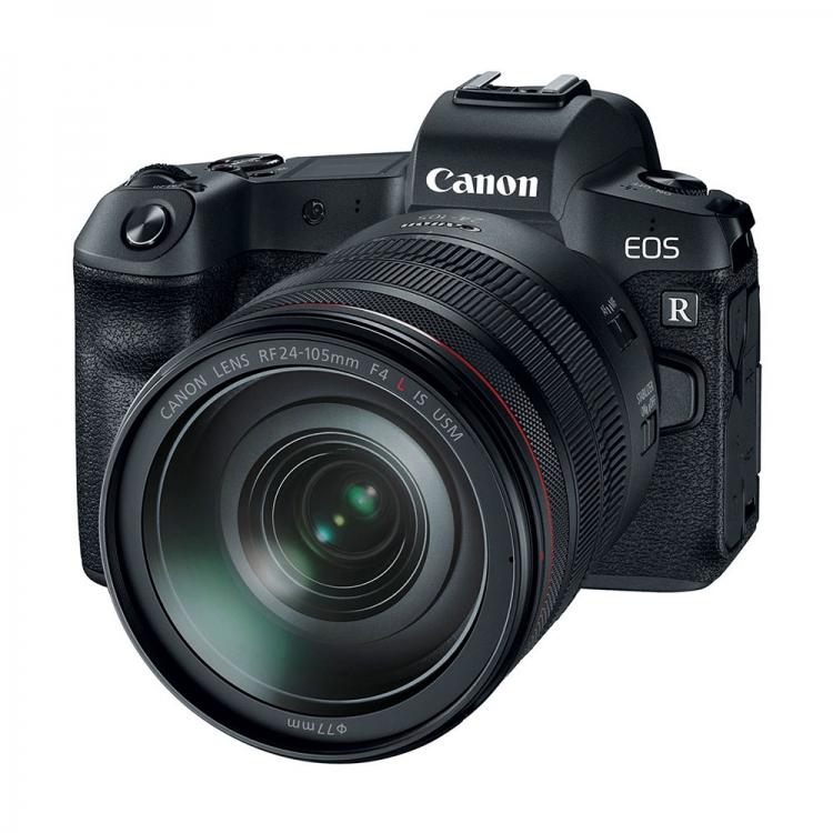 دیدنگار دوربین کانن دوربین بدون آینه کانن Canon EOS R Mirrorless 24-105 IS USM