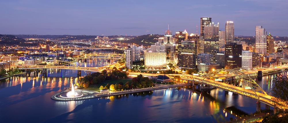 عکاسی شهر در شب