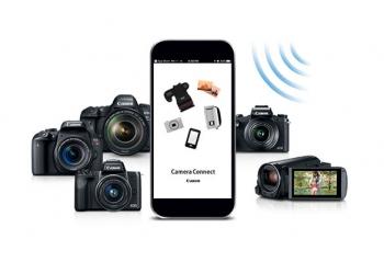 آموزش اتصال دوربین کانن به گوشی با اپلیکیشن Camera Connect