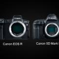 .مقایسه دوربین کانن 5D Mark IV و دوربین کانن EOS R