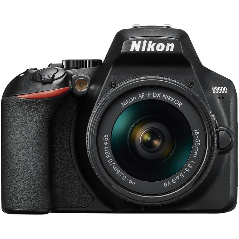 دوربین عکاسی نیکون Nikon D3500 با لنز ۵۵-۱۸ AF-P VR