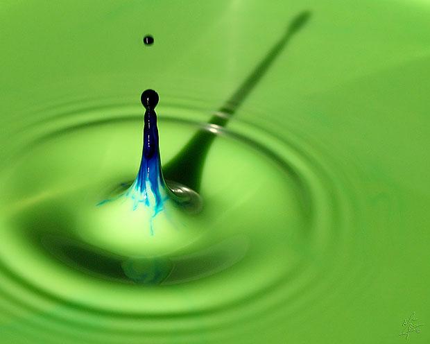 عکاسی از قطره آب