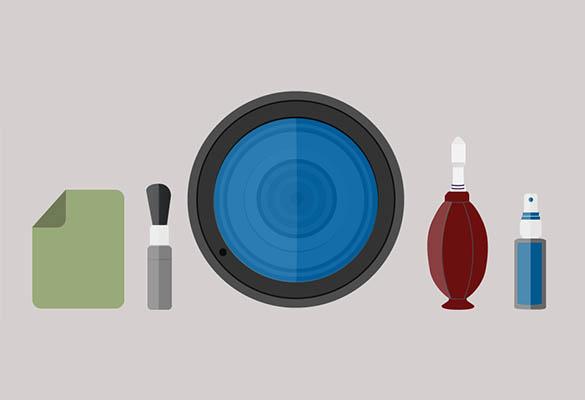 تمیز کردن لنز و فیلتر