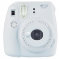 .دوربین چاپ سریع فوجی فیلم سفید دودی Instax Mini 9 Smoky White