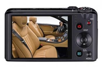 صفحه نمایش دوربین کاسیو ZR200