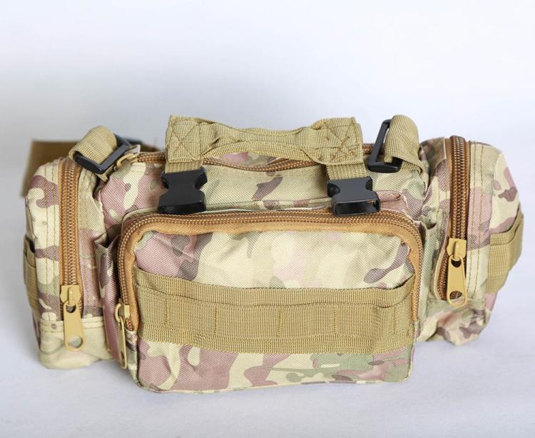 کیف کمری کوهنوردی ارتشی مدل تاکتیکال