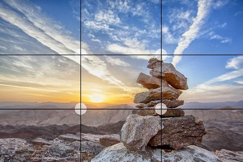 قانون یک سوم در عکاسی طبیعت