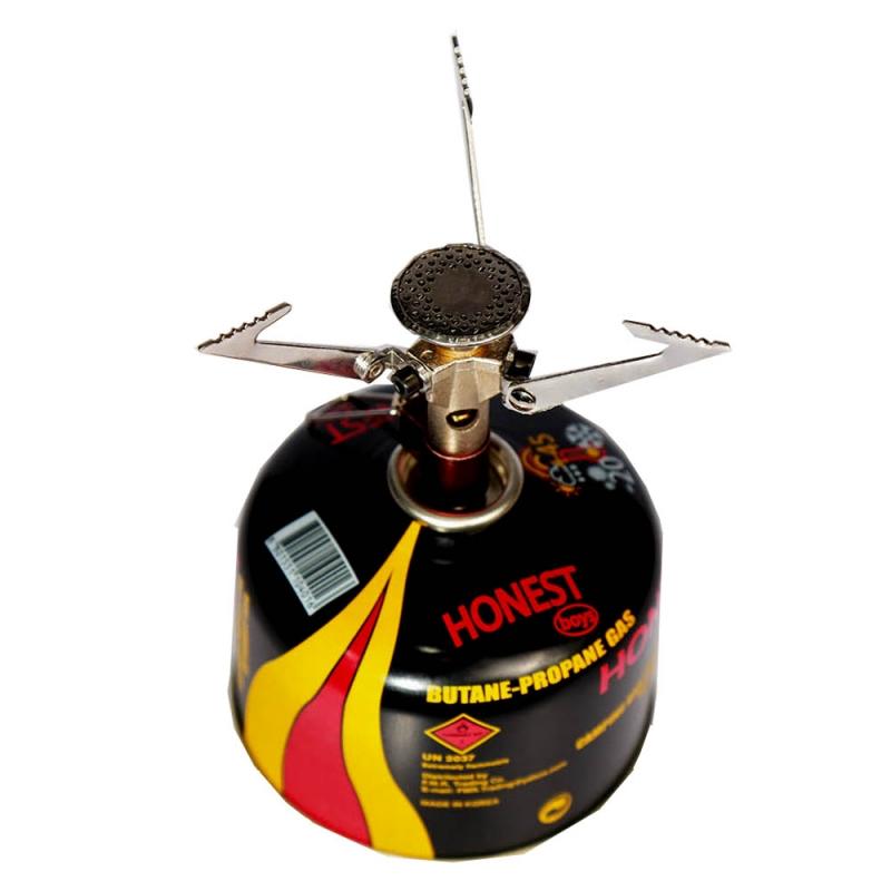 اجاق گاز کوهنوردی HONEST به همراه سرشعله اصلی Campsor